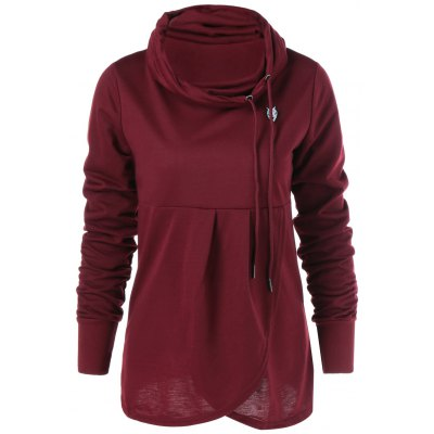 Collier Cowl Sweat-shirt
