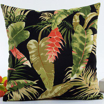 Hot Sell Forest Printed Decorative Household Pillow Case