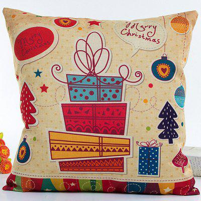 Colorful Christmas Gifts Hot Sell Decorative Household Pillow Case