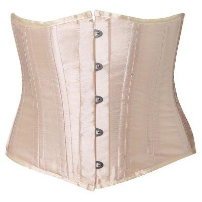 Lace-Up Buckle Corset