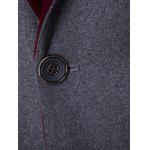 Back Vent Notch Lapel Two Tone One-Button Blazer deal