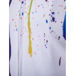 Paint Splatter Zip-Up Hoodie for sale