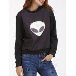 Alien Pattern Sweatshirt deal