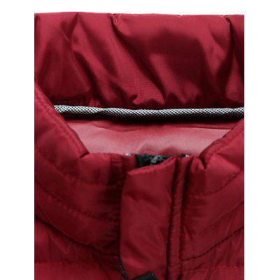 Zipped Stand Collar Padded CoatMens Jackets &amp; Coats<br>Zipped Stand Collar Padded Coat<br><br>Clothes Type: Padded<br>Clothing Length: Regular<br>Collar: Stand Collar<br>Material: Polyester<br>Package Contents: 1 x Coat<br>Season: Winter<br>Sleeve Length: Long Sleeves<br>Style: Casual, Fashion, Streetwear<br>Weight: 0.900kg