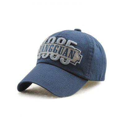 Outdoor Casual Adjustable Letters Embroidery Baseball Cap