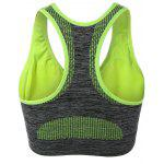 cheap Racerback Padded Gym Sports Bra