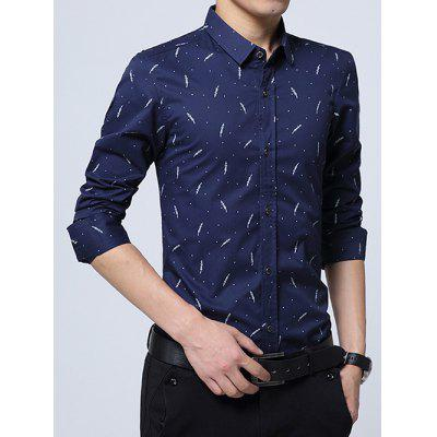 Polka Dot Plant Printed Long Sleeve ShirtMens Shirts<br>Polka Dot Plant Printed Long Sleeve Shirt<br><br>Collar: Turn-down Collar<br>Material: Cotton Blends<br>Package Contents: 1 x Shirt<br>Shirts Type: Casual Shirts<br>Sleeve Length: Full<br>Weight: 0.350kg