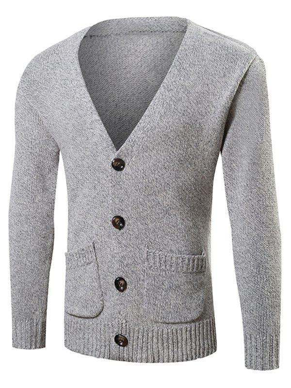 GRAY, Apparel, Men's Clothing, Men's Sweaters & Cardigans