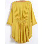 Embroidered Caftan Top - GINGER