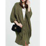 cheap Longline Dolman Cardigan