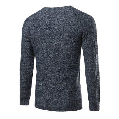 Heathered Geometric Pattern Raglan Sleeve SweaterMens Sweaters &amp; Cardigans<br>Heathered Geometric Pattern Raglan Sleeve Sweater<br><br>Collar: Round Neck<br>Material: Polyester<br>Package Contents: 1 x Sweater<br>Sleeve Length: Full<br>Style: Casual<br>Technics: Computer Knitted<br>Type: Pullovers<br>Weight: 0.400kg