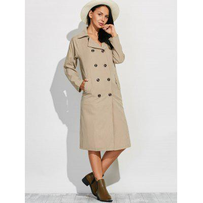 Lapel Belted Maxi Pea Trench CoatJackets &amp; Coats<br>Lapel Belted Maxi Pea Trench Coat<br><br>Clothes Type: Trench<br>Collar: Lapel<br>Embellishment: Sashes<br>Material: Polyester<br>Package Contents: 1 x Trench Coat<br>Pattern Type: Solid<br>Season: Fall<br>Shirt Length: X-Long<br>Sleeve Length: Full<br>Style: Fashion<br>Type: Slim<br>Weight: 0.292kg<br>With Belt: No