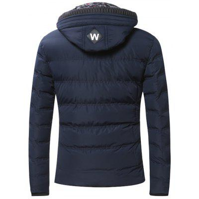 Faux Twinset Zipper Hooded Quilted JacketMens Jackets &amp; Coats<br>Faux Twinset Zipper Hooded Quilted Jacket<br><br>Clothes Type: Padded<br>Collar: Hooded<br>Material: Cotton, Down, Polyester<br>Package Contents: 1 x Jacket<br>Season: Winter<br>Shirt Length: Regular<br>Sleeve Length: Long Sleeves<br>Style: Fashion<br>Weight: 1.022kg