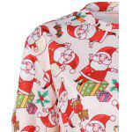 3D Santa Claus Print Christmas Sweatshirt deal