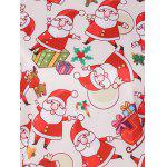 3D Santa Claus Print Christmas Sweatshirt photo