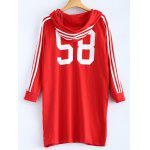cheap 58 Tunic Hoodie with Drawstring