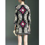 cheap Embroidery Ethnic Style Trench Coat