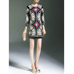 Embroidery Ethnic Style Trench Coat for sale