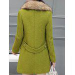 Fur Collar Pockets Walker Peacoat deal