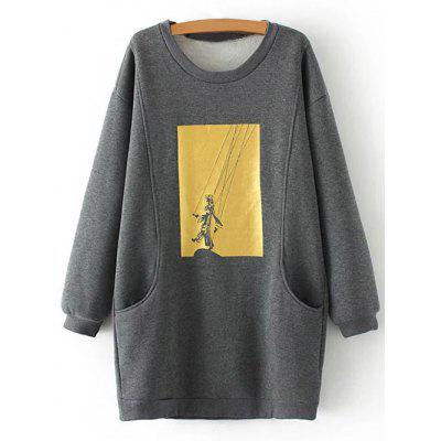 Plus Size Fleece Sweatshirt