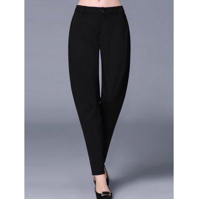 Pockets Design Zip Fly Pencil PantsPlus Size Bottoms<br>Pockets Design Zip Fly Pencil Pants<br><br>Closure Type: Zipper Fly<br>Fit Type: Loose<br>Length: Ninth<br>Material: Nylon<br>Package Contents: 1 x Pants<br>Pant Style: Pencil Pants<br>Pattern Type: Solid<br>Style: Casual<br>Waist Type: Mid<br>Weight: 0.557kg