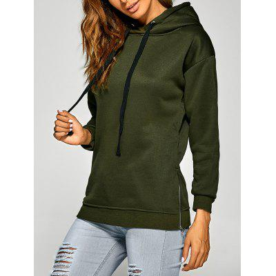 Active Side Zipper Drawstring HoodieSweatshirts &amp; Hoodies<br>Active Side Zipper Drawstring Hoodie<br><br>Material: Polyester<br>Package Contents: 1 x Hoodie<br>Pattern Style: Solid<br>Season: Fall<br>Shirt Length: Regular<br>Sleeve Length: Full<br>Style: Casual<br>Weight: 0.304kg