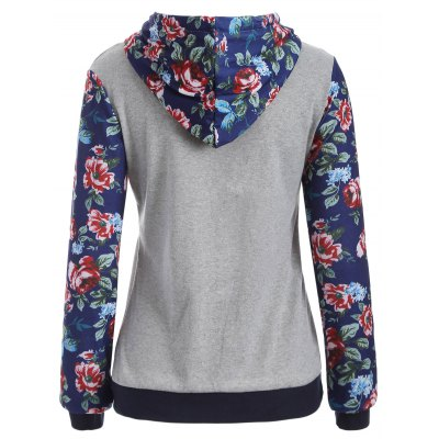 Pocket Floral Print HoodieSweatshirts &amp; Hoodies<br>Pocket Floral Print Hoodie<br><br>Material: Cotton<br>Package Contents: 1 x Hoodie<br>Pattern Style: Floral<br>Season: Fall<br>Shirt Length: Regular<br>Sleeve Length: Full<br>Style: Fashion<br>Weight: 0.280kg
