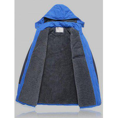 Color Block Detachable Hood Sports JacketMens Jackets &amp; Coats<br>Color Block Detachable Hood Sports Jacket<br><br>Clothes Type: Jackets<br>Collar: Hooded<br>Material: Cotton, Faux Fur, Polyester<br>Package Contents: 1 x Jacket<br>Season: Winter<br>Shirt Length: Regular<br>Sleeve Length: Long Sleeves<br>Style: Active, Casual<br>Weight: 1.122kg