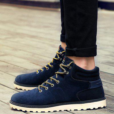 "Suede Lace-Up Ankle BootsMens Boots<br>Suede Lace-Up Ankle Boots<br><br>Boot Height: Ankle<br>Boot Type: Fashion Boots<br>Closure Type: Lace-Up<br>Embellishment: None<br>Gender: For Men<br>Heel Hight: Flat(0-0.5"")<br>Heel Type: Flat Heel<br>Outsole Material: Rubber<br>Package Contents: 1 x Boots (pair)<br>Pattern Type: Solid<br>Season: Winter<br>Shoe Width: Medium(B/M)<br>Toe Shape: Round Toe<br>Upper Material: Suede<br>Weight: 1.120kg"