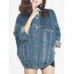 cheap Vintage Pockets Denim Jacket