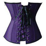 Applique Corset + Tiered Mesh Skirt Twinset for sale