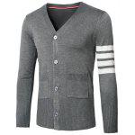 Buy GRAY, Apparel, Men's Clothing, Men's Sweaters & Cardigans for $19.73 in GearBest store