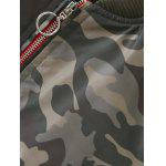 Camouflage Print Padded Flying Jacket deal