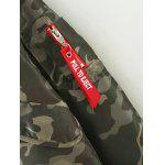 Camouflage Print Padded Flying Jacket for sale