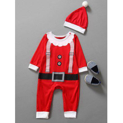 Baby-Weihnachtskleidung Outfits Kinder-Overall