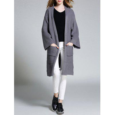 PocketsFurcal Long Cardigan