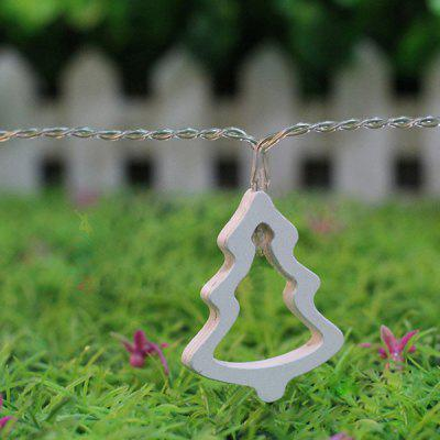 10PCS Festival Party Christmas Tree Hanging LED Light Bunch Decoration