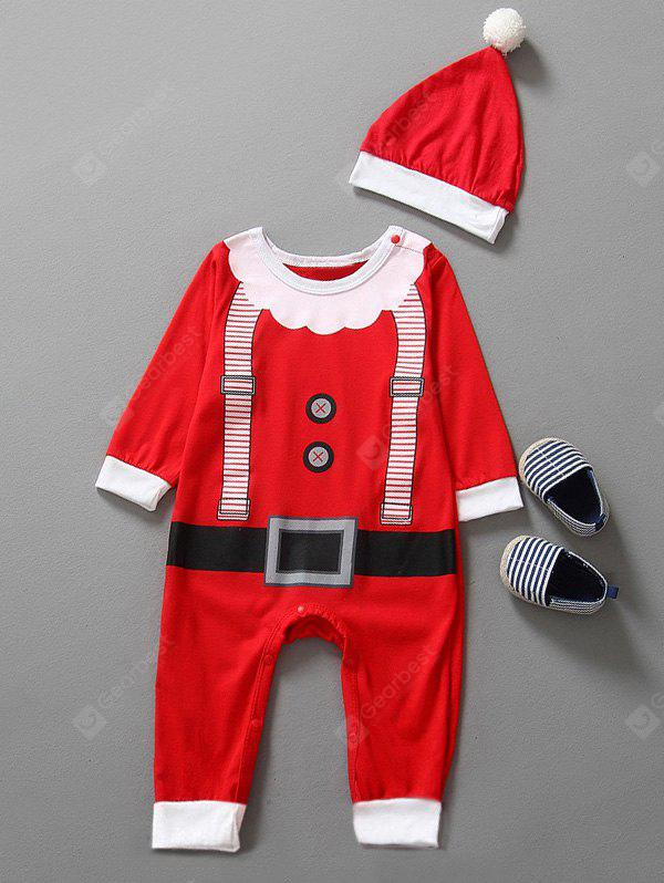 Baby Christmas Clothes Outfits Kids Jumpsuit