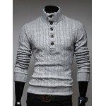 Buy LIGHT GRAY, Apparel, Men's Clothing, Men's Sweaters & Cardigans for $27.10 in GearBest store