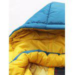 Detachable Hooded Zip-Up Thicken Padded Jacket for sale