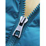 best Detachable Hooded Zip-Up Thicken Padded Jacket