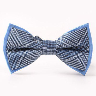 Cross Pattern Double-Deck Bow Tie