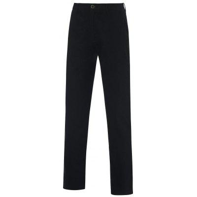Button Pocket Straight Leg Chino Pants
