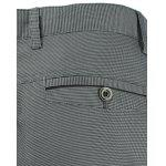 Button Pocket Zipper Fly Texture Pants - GRIGIO