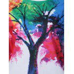 Tie-Dye Tree Pattern Sweatshirt for sale