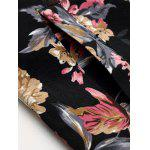 best Stand Collar Floral Jacket