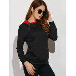 cheap Drawstring Hoodie With Big Pocket