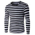 Buy BLACK, Apparel, Men's Clothing, Men's T-shirts, Men's Long Sleeves Tees for $15.21 in GearBest store