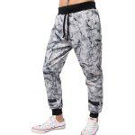 cheap Porcelain Stripe Printed Jogger Pants