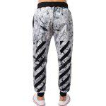 Porcelain Stripe Printed Jogger Pants deal